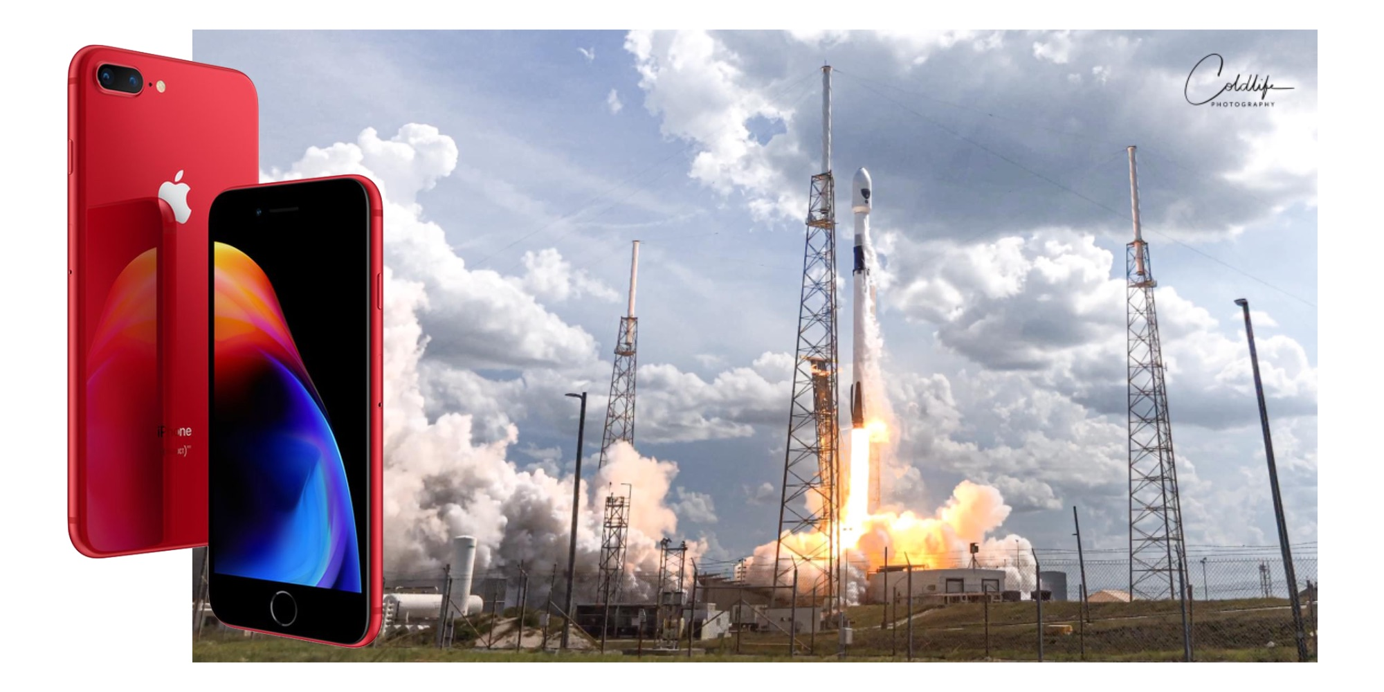 photo of Check out this SpaceX Falcon 9 rocket launch remotely captured with an iPhone 8 Plus image