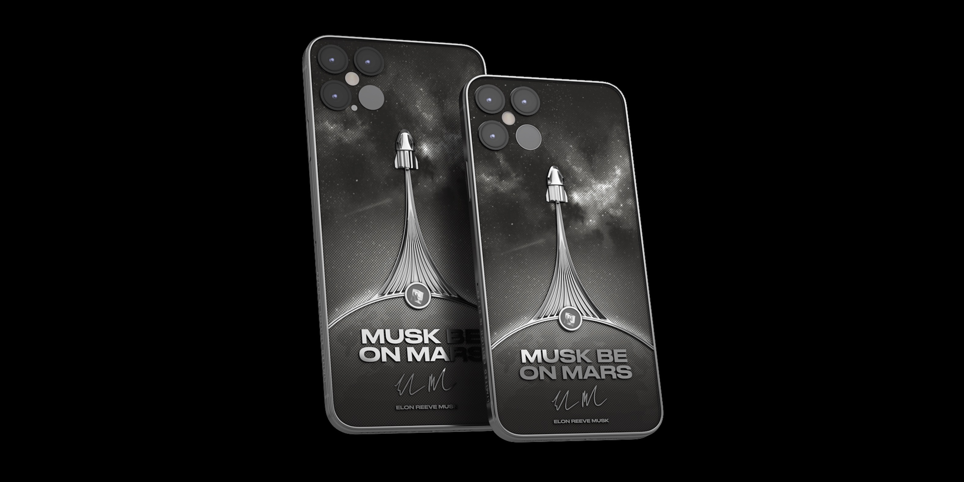 Musk be on Mars: Luxury brand taking pre-orders for $5,000 SpaceX iPhone 12 Pro concept