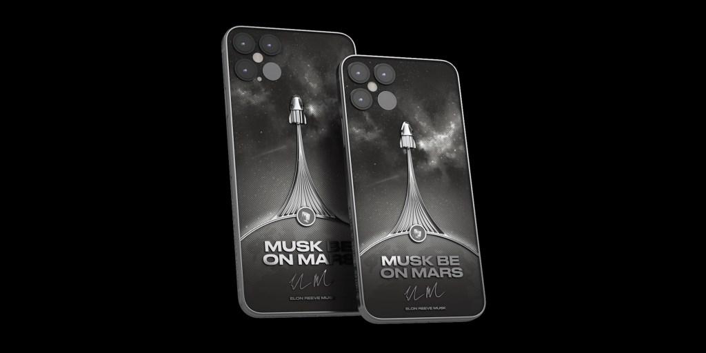 Musk be on Mars custom SpaceX iPhone