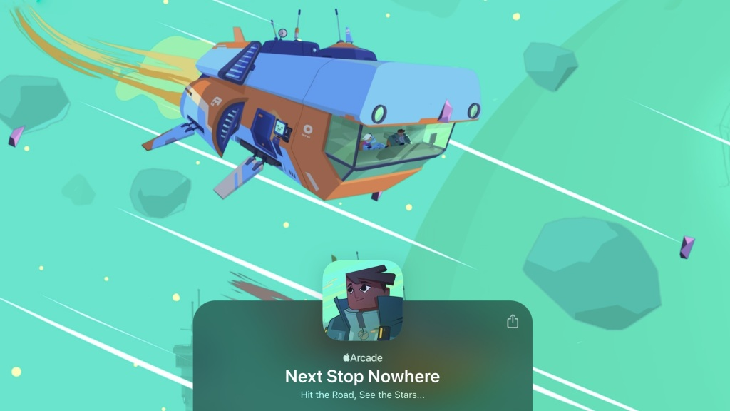 Next Stop Nowhere space adventure game