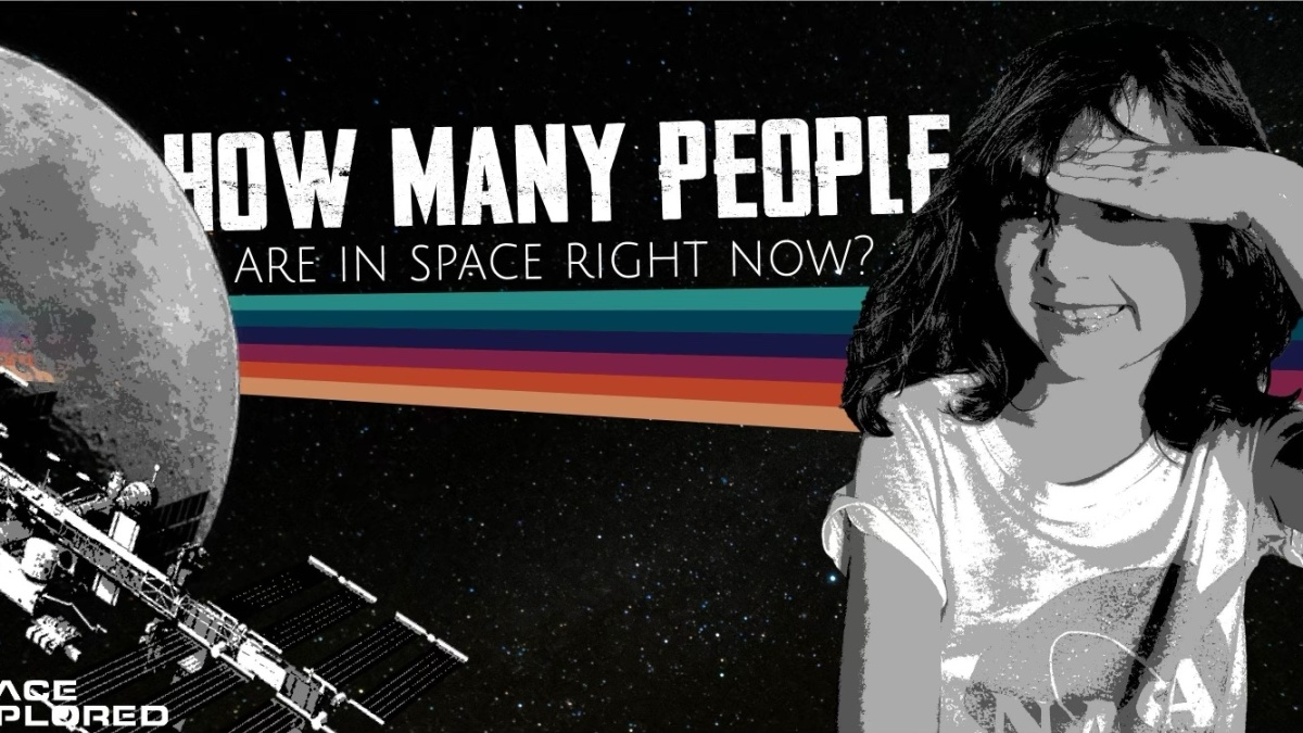 how many people are in space right now