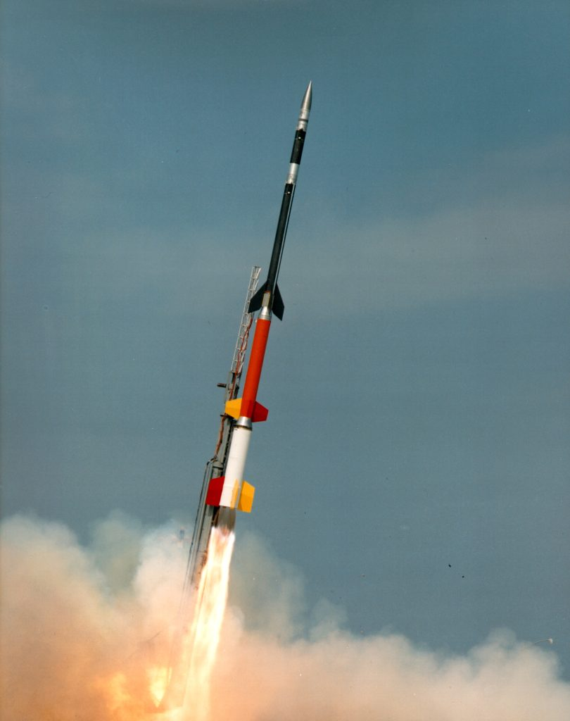 Black Brant XII Sounding Rocket Launch Picture