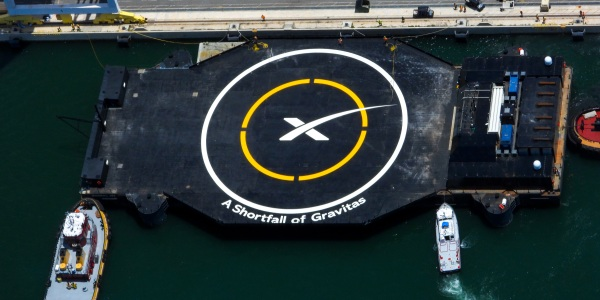 A Shortfall of Gravitas droneship Port Canaveral