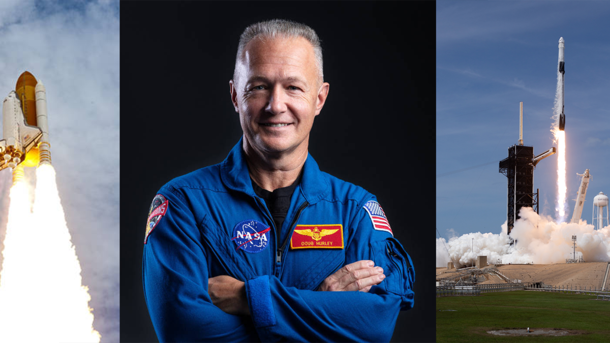 Douglas Hurley sts-135 to spacex dm-2