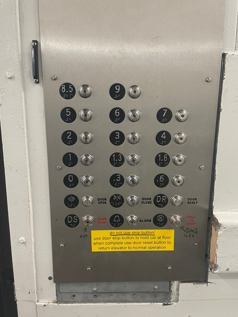 ula vif elevator numbers