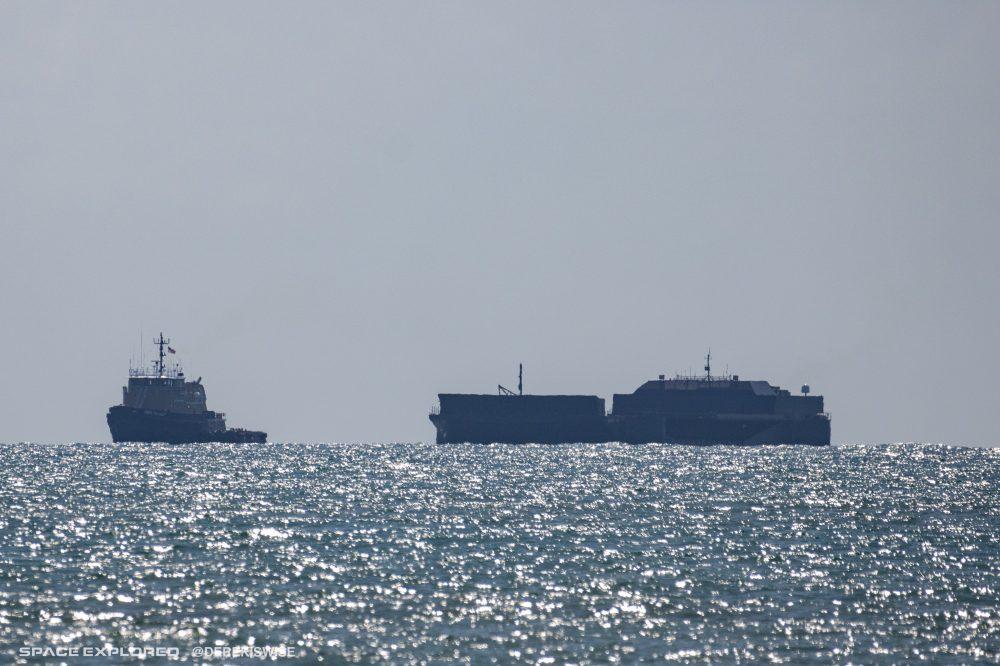 A Shortfall of Gravitas and Finn Falgout out at sea.