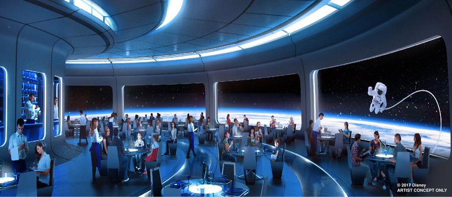 Walt Disney World Space 220 restaurant