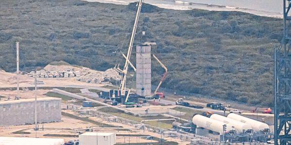 Blue Origin Project Jarvis test tank