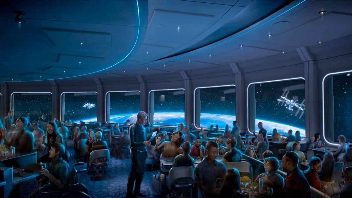 Disney Space 220 Concept art