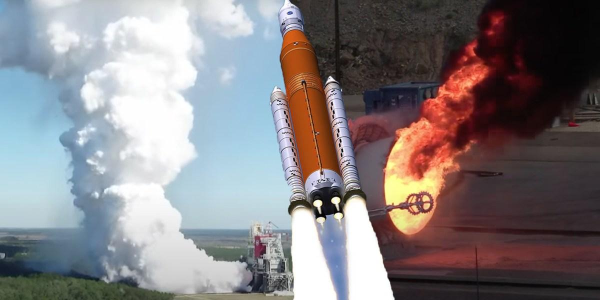SLS Launch Testing