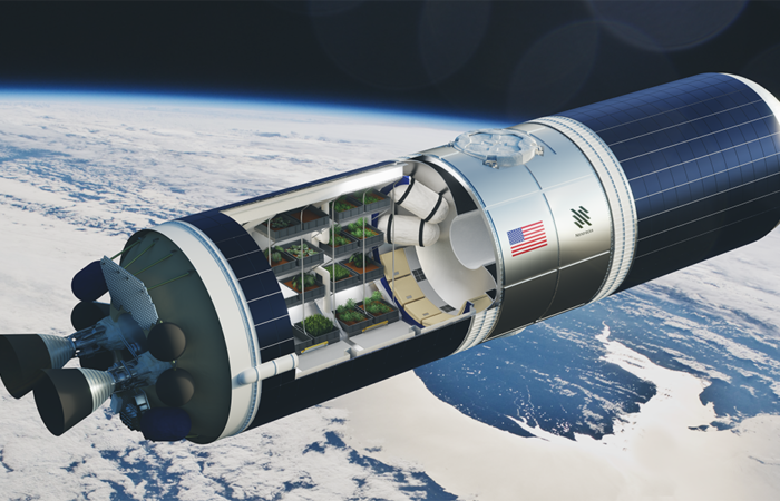 Starlab Oasis launched by Nanoracks.
