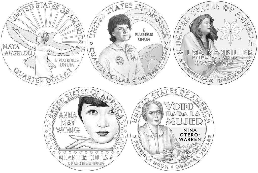 US Mint American Woman Quarters Program Sally Ride