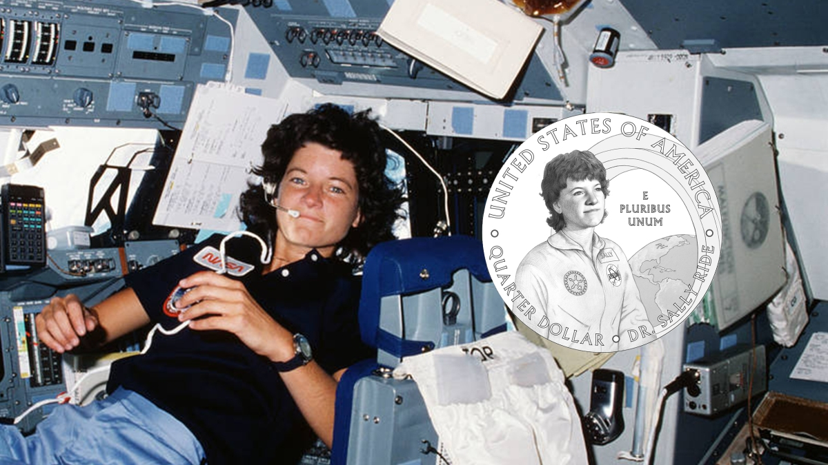 Sally Ride astronaut coin featured