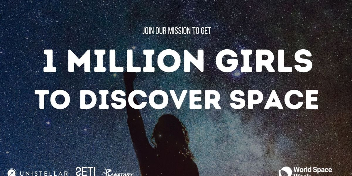 Unistellar and SETI partner to inspire girls.